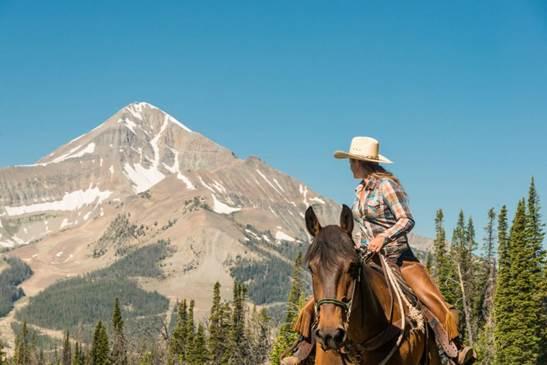 Lone Mountain Ranch #BigSky #montana #usa ##exclusiveescapes #vacation #luxurylifestyle #travel #luxury #hotels #exclusive #getaway #destinations #resorts #beautiful #life #traveling #bucketlist #beverlyhills #BevHillsMag #cowgirls