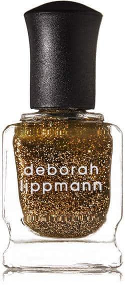 Gold Glitter Polish. BUY NOW!!! #beverlyhillsmagazine #beverlyhills #beauty #makeup #lipstick #nailpolish