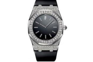 Audemars Piguet Royal Oak Tuxedo Diamond Watch. BUY NOW!!! #beverlyhills #watches #shop #jewelry #watch #bevhillsmag #bevelryhillsmagazine