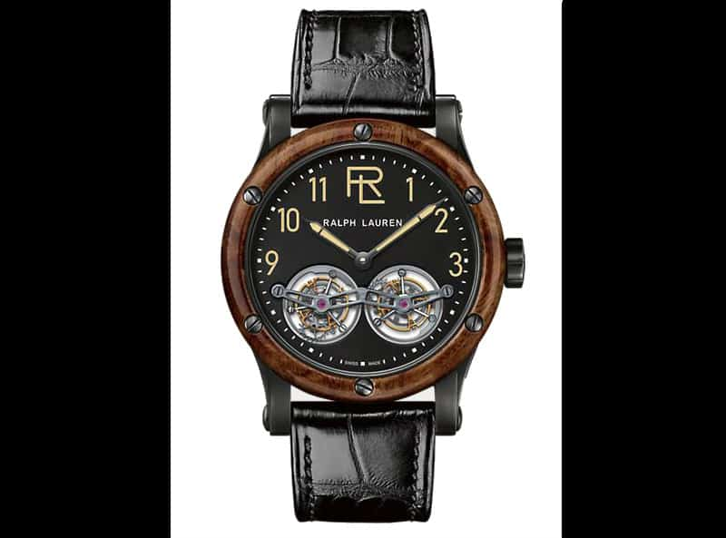 Ralph Lauren Automotive Double Tourbillon Watch. $99K BUY NOW!!! #beverlyhills #watches #shop #jewelry #watch #bevhillsmag #bevelryhillsmagazine