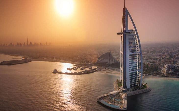 Burj AI Arab Hotel, #Dubai #BevHillsMag #beverlyhillsmagazine #travel