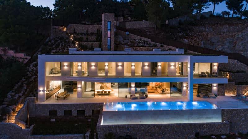 Dream Home in Mallorca, #Spain $14.6Million #luxury #dreamhomes #mega #mansions #mallorca #realestate #beverlyhills #beverlyhillsmagazine #bevhillsmag
