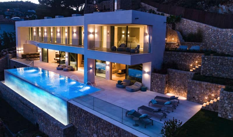 Dream Home in Mallorca, #Spain $14.6Million #luxury #dreamhomes #mega #mansions #mallorca #realestate #beverlyhills #beverlyhillsmagazine #bevhillsmag