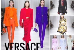 Versace SS 2018 Runway Fashion Style