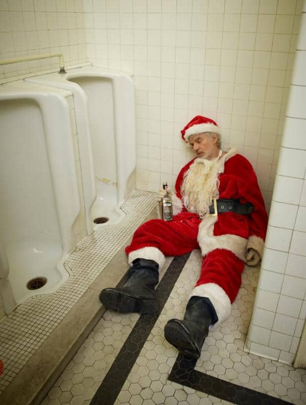 Billy Bob Thornton as BAD SANTA ©Timothy White 2016