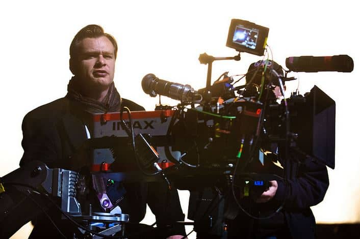 """Director CHRISTOPHER NOLAN on the set of Warner Bros. Pictures' and Legendary Pictures' action thriller """"THE DARK KNIGHT RISES,"""" a Warner Bros. Pictures release. TM & © DC Comics."""