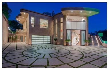 Famous celebrity homes beverly hills magazine for Luxury homes for sale in beverly hills