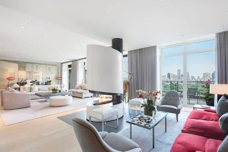 Sting's Central Park NYC Penthouse