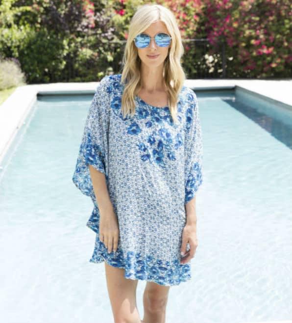 NICKY HILTON x TOLANI Silk Ready-to-wear brand