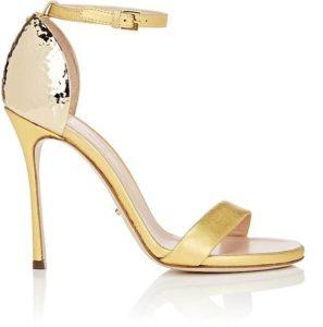Sergio Rossi Heels in Gold. BUY NOW!!!