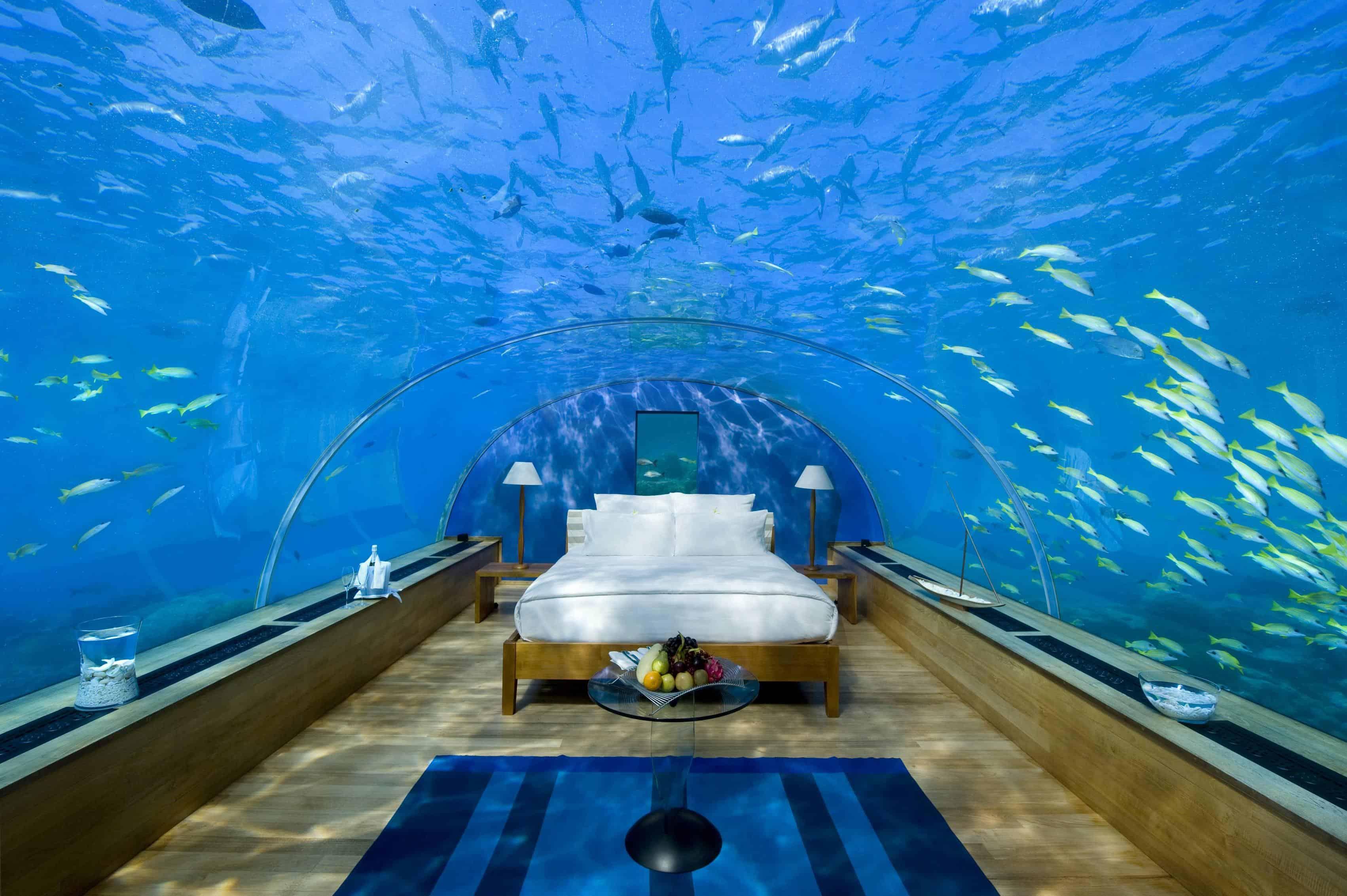 World s exclusive and exotic hotels beverly hills magazine for Conrad rangali maldivas