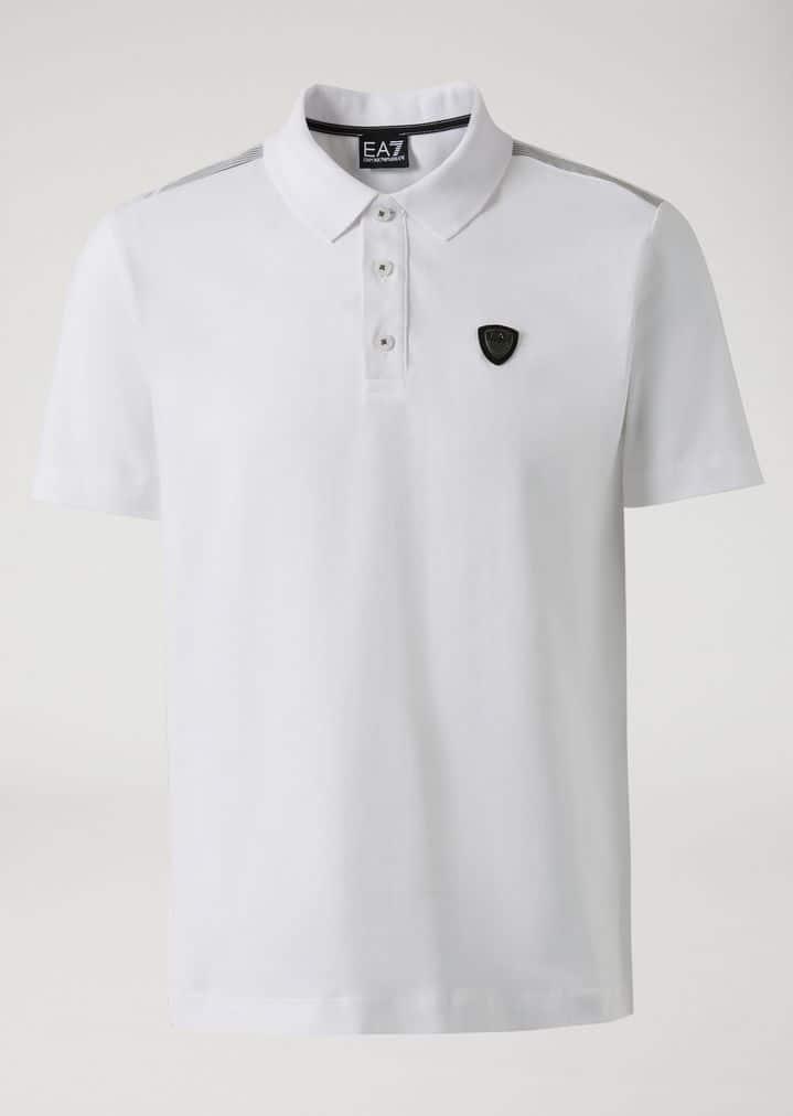 EA7 Emporio Armani Polo For Men. BUY NOW!!! #beverlyhillsmagazine #beverlyhills #fashion #style #shop #shopping  #alexandermcqueen #styleformen