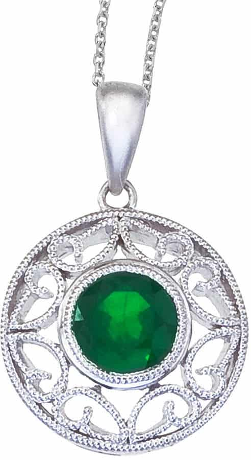 Gorgeous Emerald Necklace. BUY NOW!!! #BevHillsMag #fashion #shopping #shop #style #beverlyhills #jewelry