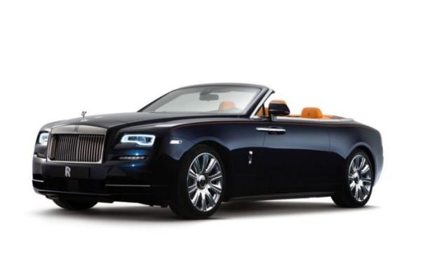 The New Rolls-Royce Dawn
