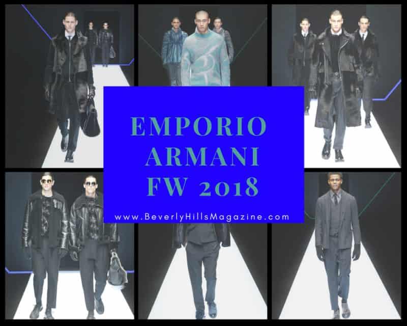 Emporio Armani Runway Style FW 2018 #beverlyhillsmagazine #bevhillsmag #shop #style #shopping #fashion #styleformen #fashionweek #runway