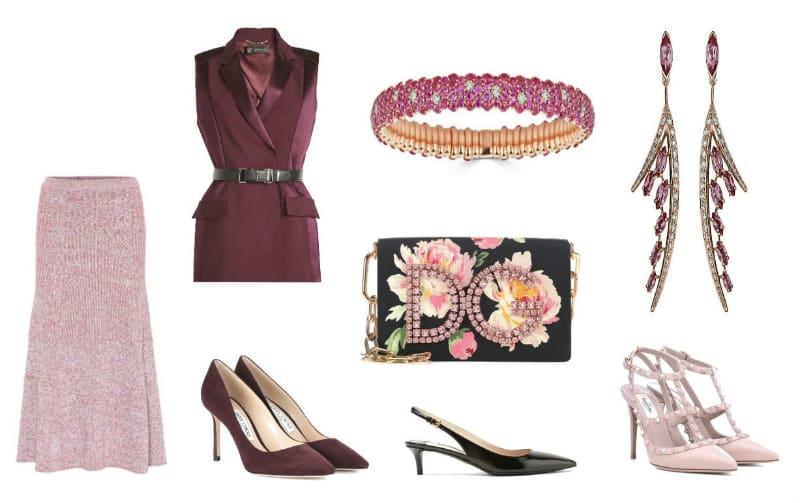 Elegant Pink & Burgundy Style. SHOP NOW!!! #shop #fashion #style #shop #shopping #clothing #beverlyhills #beverlyhillsmagazine #bevhillsmag