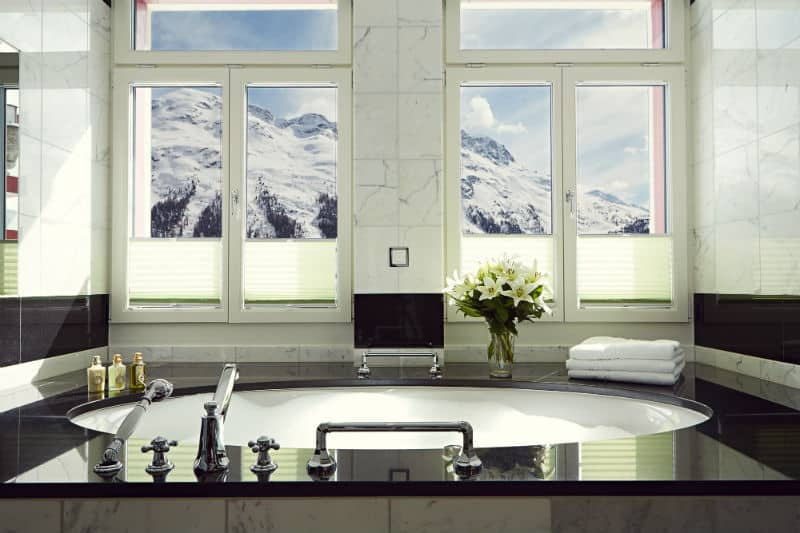 Badrutt's Palace, St Moritz, Switzerland