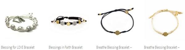 My Saint My Hero Blessing Bracelets