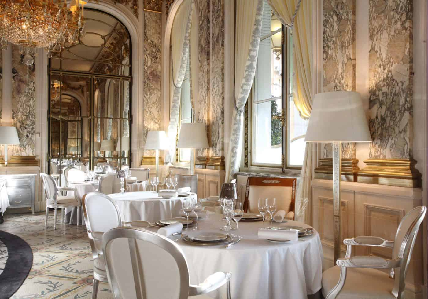Best restaurants in paris france beverly hills magazine for Hotel luxe france