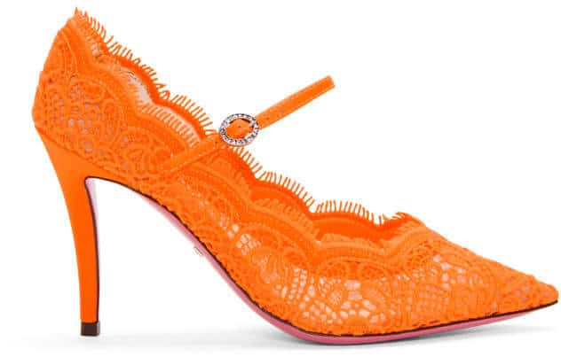 GUCCI Lace Pumps. BUY NOW!!! #BevHillsMag #beverlyhillsmagazine #fashion #shop #style #shopping