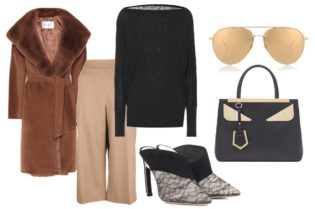 Golden Winter Style. #shop #fashion #style #shop #shopping #clothing #beverlyhills #beverlyhillsmagazine #bevhillsmag #shoes