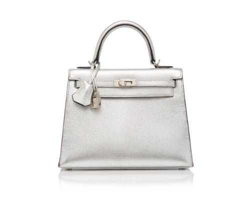 Hermès Silver Handbag. BUY NOW!!! #beverlyhillsmagazine #bevhillsmag #shop #style #shopping #fashion