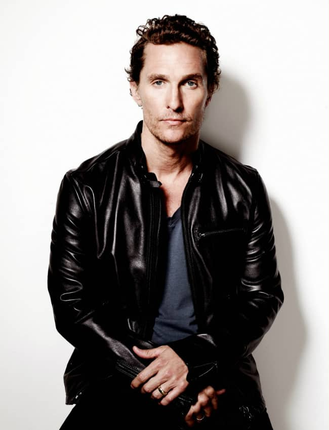 Hollywood Celebrity: Matthew McConaughey