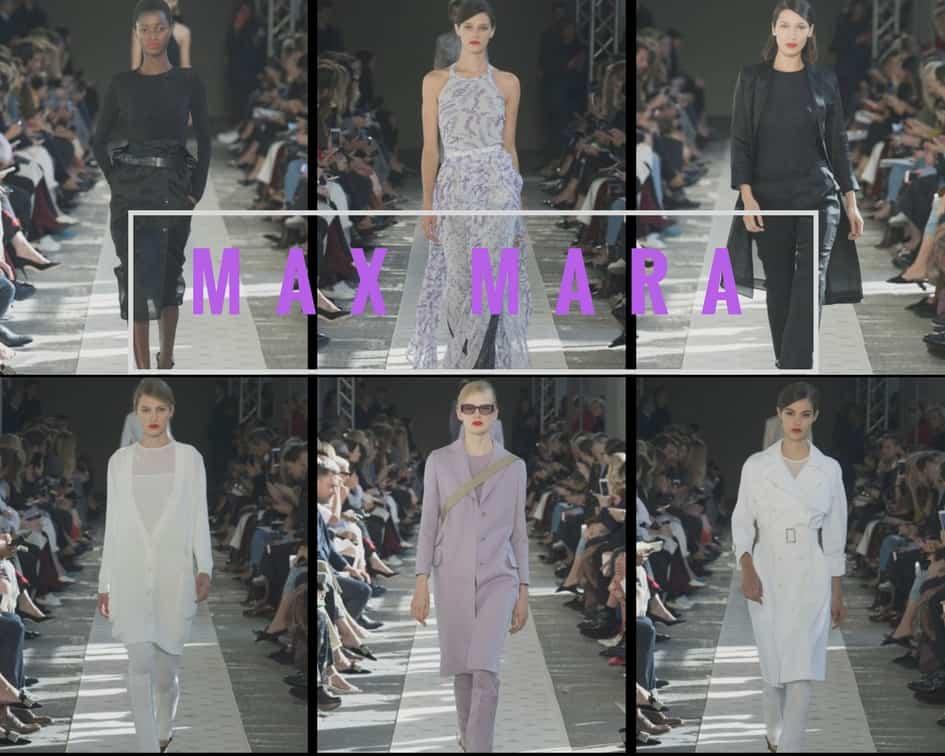 Max Mara Ss 2018 Runway Fashion Style
