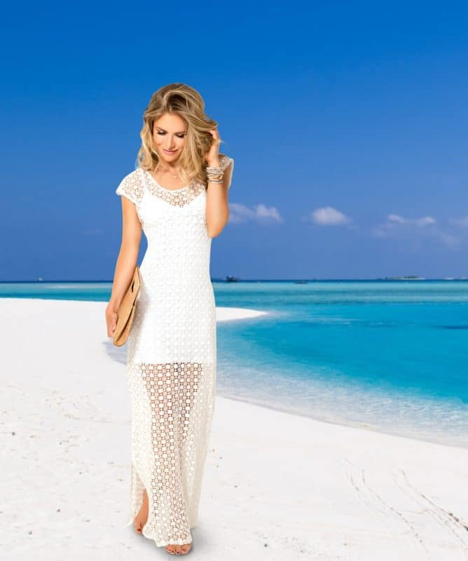 NUDZ Beachwear: Santorini Dress