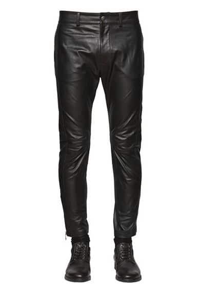 Diesel Leather Pants For Men. BUY NOW!!! #BevHillsMag #beverlyhillsmagazine #fashion #style #shopping #styleformen