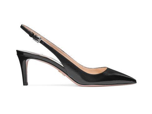 PRADA Kitten Heels. BUY NOW!!! #shop #fashion #style #shop #shopping #clothing #beverlyhills #beverlyhillsmagazine #bevhillsmag