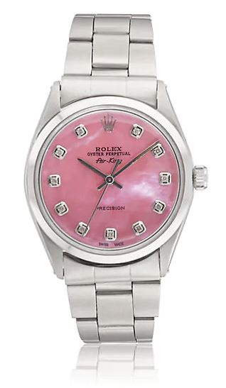 Pink Rolex Watch. BUY NOW!!! #beverlyhills #beverlyhillsmagazine #bevhillsmag #shop #shopping #jewelry