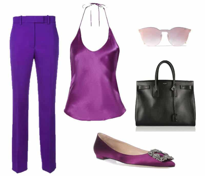 Casual Purple Style. SHOP NOW!!! #BevHillsMag #beverlyhillsmagazine #fashion #shop #style #shopping