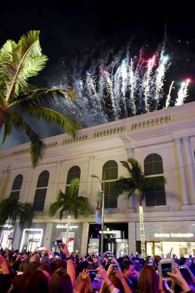 Rodeo Dr Lighting Ceremony