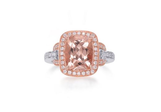 Morganite & Diamond Ring. BUY NOW!!! #beverlyhills #beverlyhillsmagazine #bevhillsmag #shop #shopping #jewelry