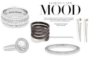 Stylish Diamond Jewelry Set #beverlyhills #shop #jewelry #jewelery #rings #earrings #bevhillsmag #bevelryhillsmagazine