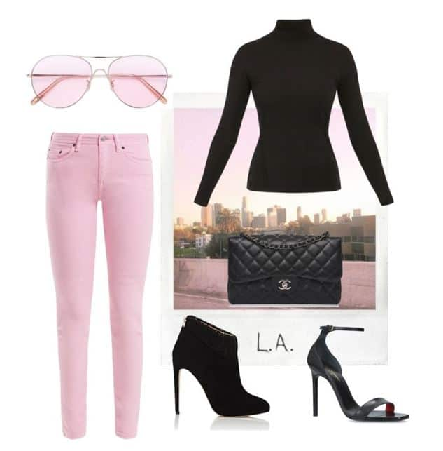 Fabulous Pink L.A. Style. SHOP NOW!!! #BevHillsMag #beverlyhillsmagazine #fashion #style #shopping