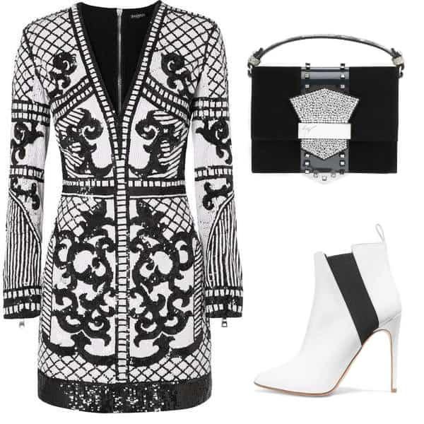 Oriental Balmain Style. SHOP NOW!!! #BevHillsMag #beverlyhillsmagazine #fashion #shop #style #shopping