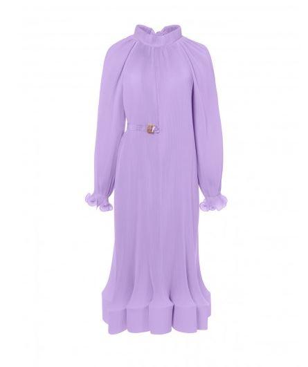 TIBI Purple Dress Style. BUY NOW!!! #shop #fashion #style #shop #shopping #clothing #beverlyhills #beverlyhillsmagazine #bevhillsmag