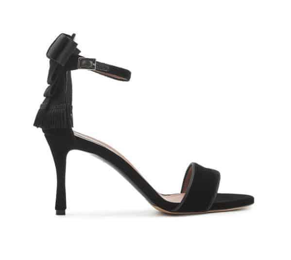 Tabitha Simmons Velvet Sandals. BUY NOW!!! #fashion #style #shop #shopping #clothing #beverlyhills #beverlyhillsmagazine #bevhillsmag #dress #silver