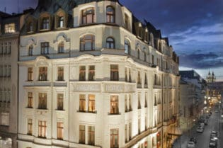 Art Noveau Palace Hotel, Prague, Czech Republic ShareEmbedEmail