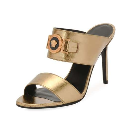 Versace High Heels. BUY NOW!!! #beverlyhillsmagazine #beverlyhills #fashion #style #shop #shopping #shoes #highheels