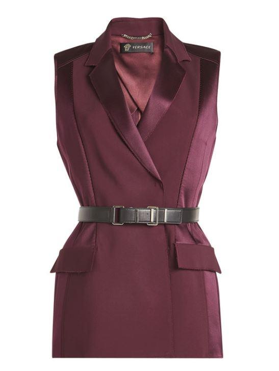 Versace Burgundy Vest. BUY NOW!!! #shop #fashion #style #shop #shopping #clothing #beverlyhills #beverlyhillsmagazine #bevhillsmag