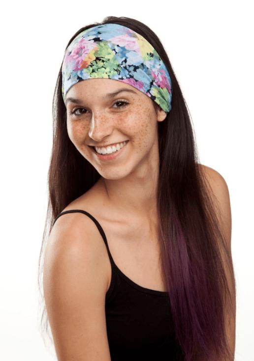 Violet Love Headband Summer Style
