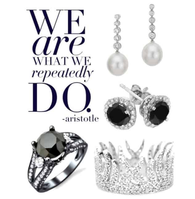 Black and White Diamond Collection..SHOP NOW!