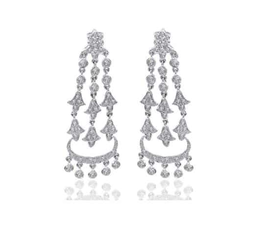 Diamond Chandelier Earrings. BUY NOW!!! #beverlyhills #beverlyhillsmagazine #bevhillsmag #shop #shopping #jewelry