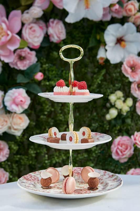 Secret Rosé Garden #beverlyhills #restaurants #pink #flowers #rodeodr #beverlywilshire #garden #love #beverlyhillsmagazine #bevhillsmag
