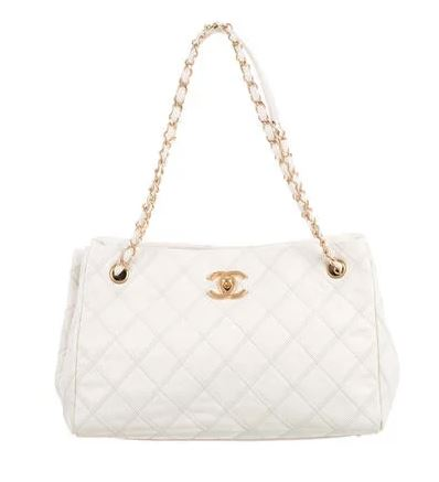 Chanel Tote Handbag. BUY NOW!!! #beverlyhillsmagazine #bevhillsmag #shop #style #shopping #fashion
