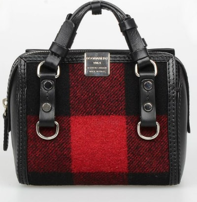 DSquared2 Wool Tartan Handbag. BUY NOW!!!