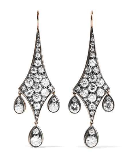 Fred Leighton Diamond Earrings. BUY NOW!!! #beverlyhills #beverlyhillsmagazine #bevhillsmag #shop #shopping #jewelry